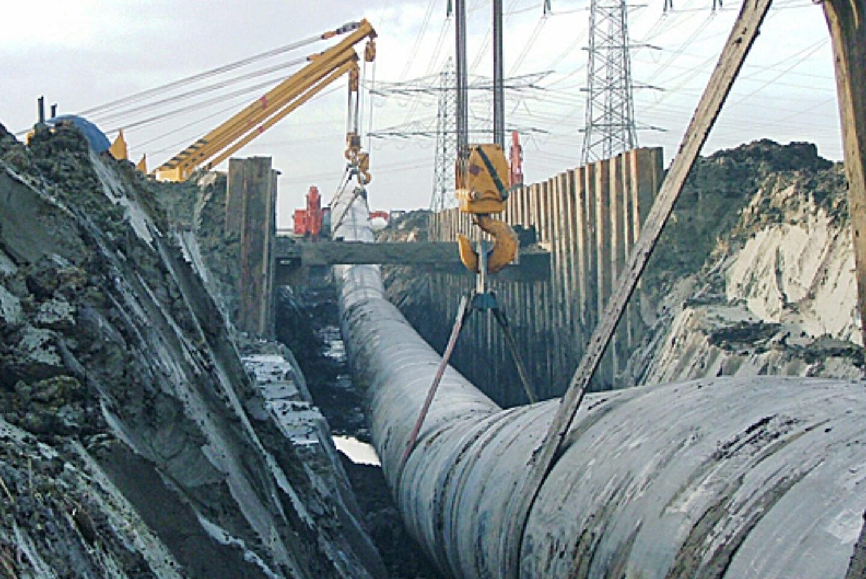 Aanleg Gasleiding Zinker Pc 1194 Rk 135 Parallel Aan 400 Ac W Leiding