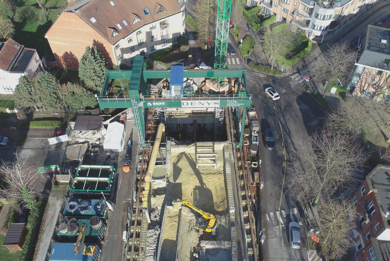 Brussels Vivaqua Grootveldlaan Feb2020 Dji 0006