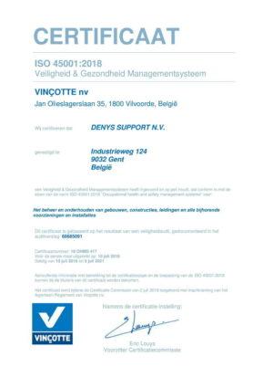 En Iso 45001 Denys Support Nv Nl 1