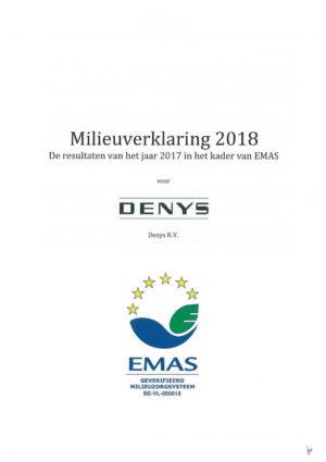 Emas Milieuverklaring 2018 01