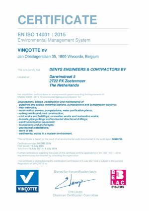 Iso14001 Denys Ec Bv Eng 1