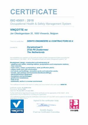 Iso45001 Denys Ec Bv Eng 1