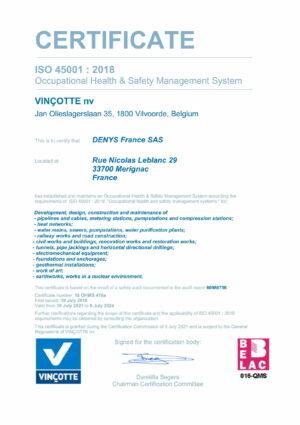 Iso45001 Denys France Sas Eng 1