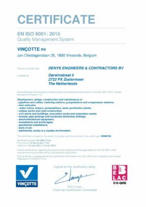 Iso9001 Cert Denys Ec Bv Eng 1
