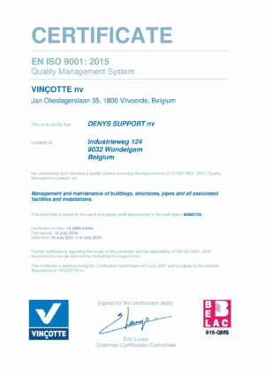 Iso9001 Cert Denys Support Eng 1