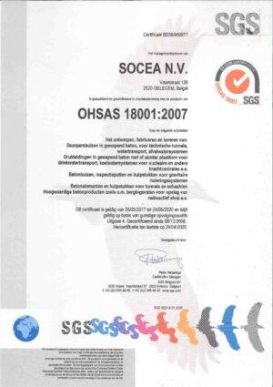 Ohsas 18001 2007 N Socea 1