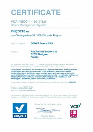 Vca Denys France Sas Eng 1