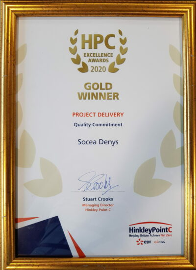 Hpc Awards Gold Winner Denys Socea